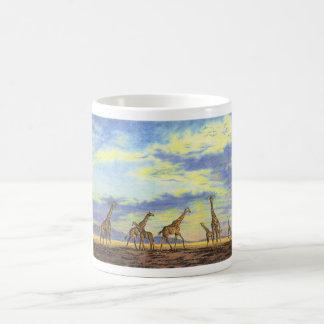 Nomads of the Serengeti Classic White Coffee Mug