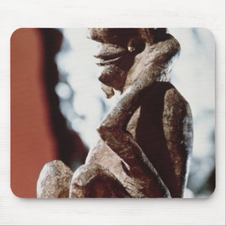 Nomali figure of the Mende tribe Mouse Mat