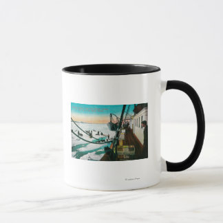 Nome, Alaska Steamer Corwin Unloading Freight Mug
