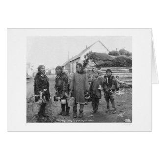 Nome Eskimo Berry Pickers 1916 Card