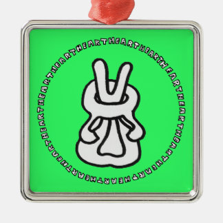 NoMiSo Taisho know point you want and the yo u Silver-Colored Square Decoration