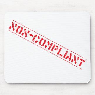 Non-Compliant Mousemat Mouse Pad