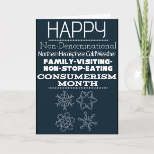 Non denominational cards zazzle uk non denominational winter greetings 1 holiday card m4hsunfo