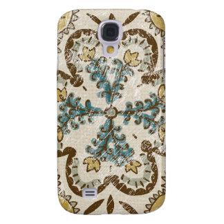 Non-Embellished Batik Square II Galaxy S4 Case