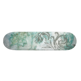 Non-Embellished Flower Spray III Custom Skateboard
