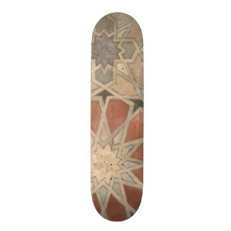Non-Embellished Marrakesh Design I 21.3 Cm Mini Skateboard Deck