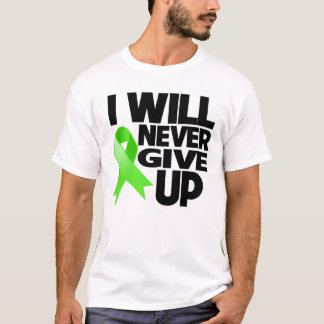 Non-Hodgkin Lymphoma I Will Never Give Up T-Shirt