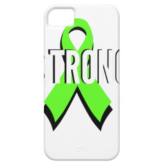 non-Hodgkin lymphoma lime green support STRONG Barely There iPhone 5 Case