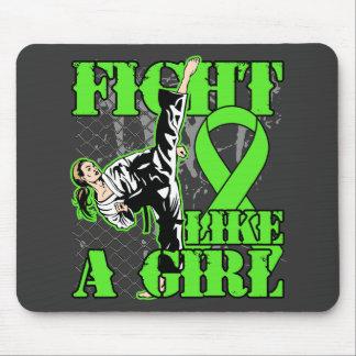 Non-Hodgkin s Lymphoma Fight Like A Girl Kick Mousepads