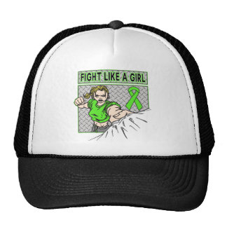 Non-Hodgkin's Lymphoma Fight Like A Girl Punch Hat