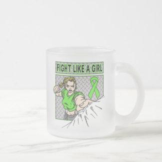 Non-Hodgkin's Lymphoma Fight Like A Girl Punch Mug