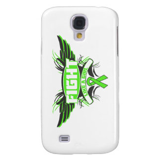 Non-Hodgkin's Lymphoma Fight Like a Girl Wings.png Galaxy S4 Case