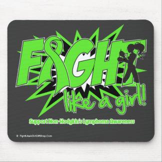 Non-Hodgkin s Lymphoma POW Fight Like A Girl Mousepad