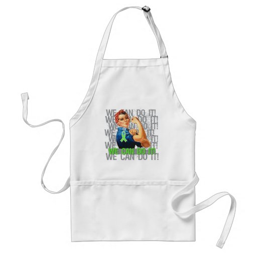 Non-Hodgkin's Lymphoma Rosie WE CAN DO IT Aprons