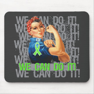 Non-Hodgkin's Lymphoma Rosie WE CAN DO IT Mousepad