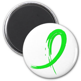 Non-Hodgkin s Lymphoma s Lime Green Ribbon A4 Magnets