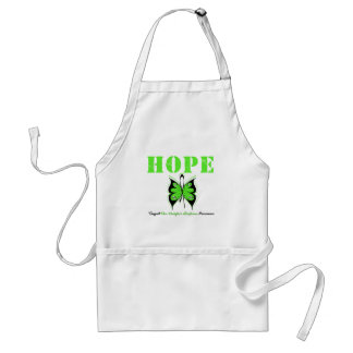 Non-Hodgkin's Hope Butterfly Adult Apron
