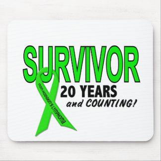 Non-Hodgkins Lymphoma 20 Year Survivor Mouse Pad