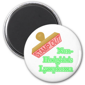 Non-Hodgkin's Lymphoma 6 Cm Round Magnet
