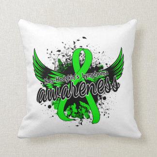 Non-Hodgkin's Lymphoma Awareness 16 Throw Pillow