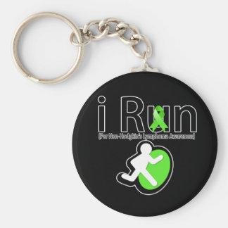 Non-Hodgkins Lymphoma Awareness I Run Keychains