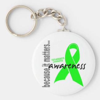 Non-hodgkins Lymphoma Awareness Key Chain