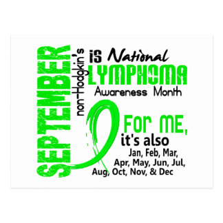 Non-Hodgkin's Lymphoma Awareness Month For Me Post Cards
