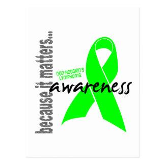 Non-hodgkins Lymphoma Awareness Postcard