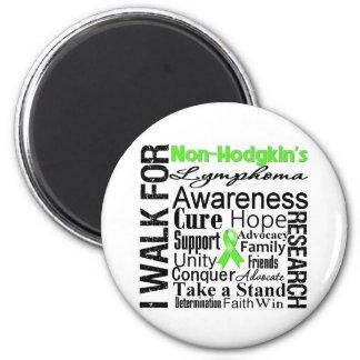 Non-Hodgkins Lymphoma Awareness Walk 6 Cm Round Magnet
