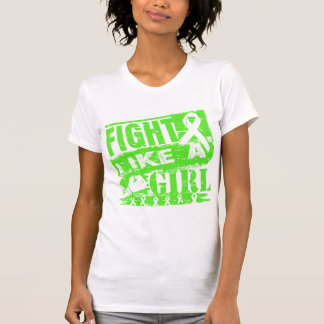 Non-Hodgkins Lymphoma BurnOut Fight Like a Girl T-shirt