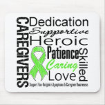 Non Hodgkins Lymphoma Caregivers Collage Mousemat