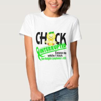 Non-Hodgkin's Lymphoma Chick Interrupted 2 T Shirts