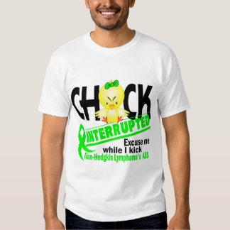 Non-Hodgkin's Lymphoma Chick Interrupted 2 T-shirts