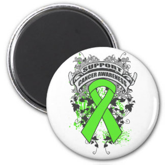 Non-Hodgkins Lymphoma - Cool Support Awareness 6 Cm Round Magnet