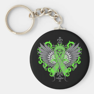 Non-Hodgkins Lymphoma Cool Wings Key Chains