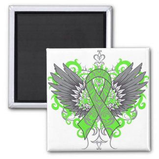 Non-Hodgkins Lymphoma Cool Wings Refrigerator Magnet