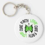 Non-Hodgkin's Lymphoma Faith Love Cure Key Chains