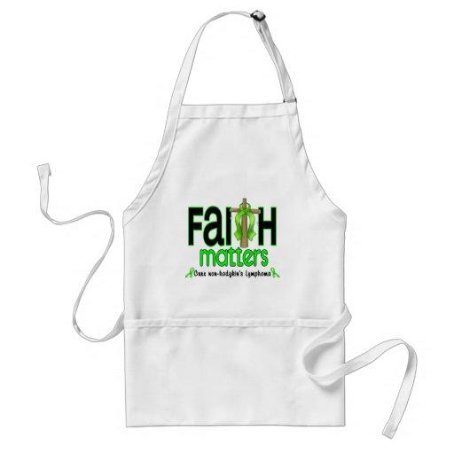 Non-Hodgkins Lymphoma Faith Matters Cross 1 Aprons