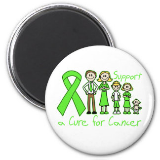 Non-Hodgkin's Lymphoma Family Support A Cure Refrigerator Magnet