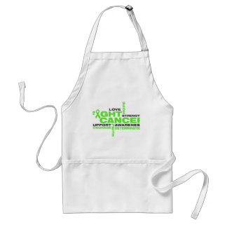 Non-Hodgkins Lymphoma Fight Collage Standard Apron