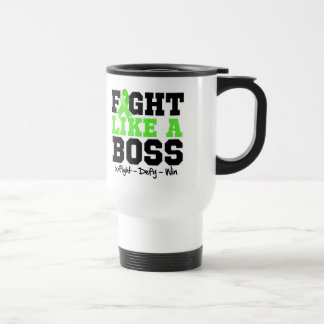 Non-Hodgkins Lymphoma Fight Like a Boss Stainless Steel Travel Mug