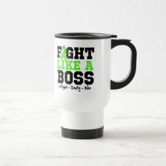 Non-Hodgkins Lymphoma Fight Like a Boss Travel Mug