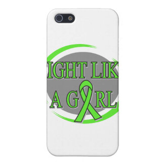 Non-Hodgkins Lymphoma Fight Like A Girl Circular iPhone 5/5S Cover