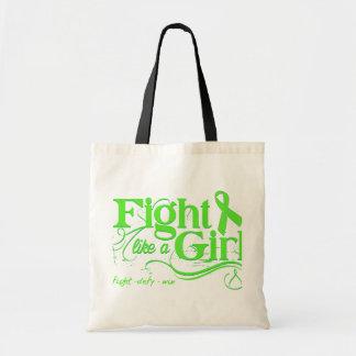 Non-Hodgkin's Lymphoma Fight Like A Girl Elegant Bags