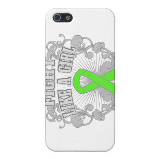 Non-Hodgkins Lymphoma Fight Like A Girl Fleurish Cover For iPhone 5