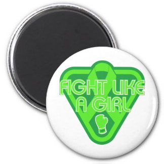 Non-Hodgkins Lymphoma Fight Like A Girl Glove Magnets
