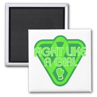 Non-Hodgkins Lymphoma Fight Like A Girl Glove Fridge Magnet