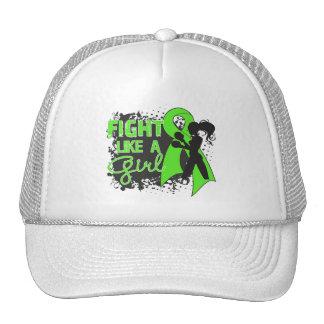 Non-Hodgkin's Lymphoma Fight Like A Girl Grunge Hat