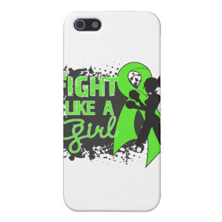 Non-Hodgkin's Lymphoma Fight Like A Girl Grunge Cover For iPhone 5