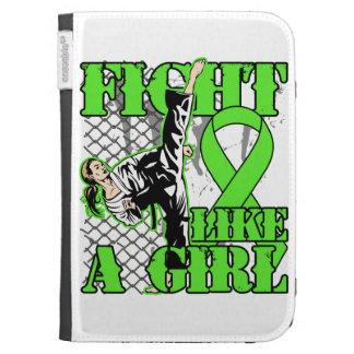 Non-Hodgkin's Lymphoma Fight Like A Girl Kick Kindle 3G Cases